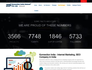 konnectionindia.com screenshot