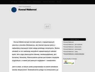 konrad-wallenrod.klp.pl screenshot