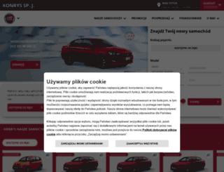 konrys.fiat.pl screenshot