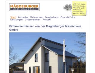 kons.md-massivhaus.de screenshot
