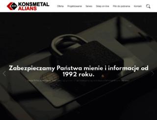 konsmetal.com.pl screenshot