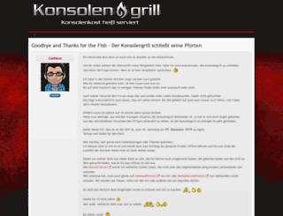 konsolengrill.de screenshot