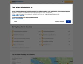 konstanz.stadtbranchenbuch.com screenshot
