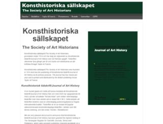 konsthistoriska.org screenshot