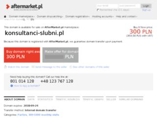 konsultanci-slubni.pl screenshot
