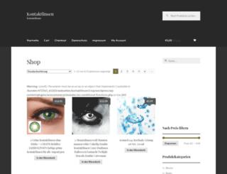 kontaktlinsen-vergleichen.info screenshot