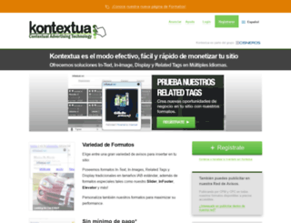 kontextua.com screenshot