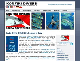 kontikidivers.com screenshot