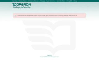 konto.operon.pl screenshot