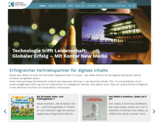 kontornewmedia.com screenshot