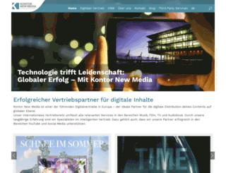 kontornewmedia.de screenshot