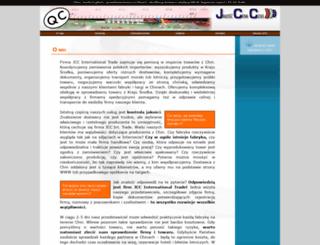 kontrolajakosci.jccint.pl screenshot