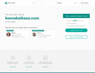 konveksikaos.com screenshot