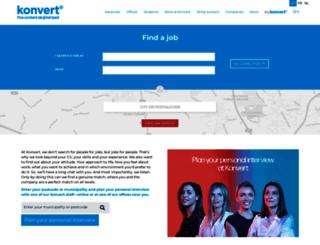 konvert.be screenshot