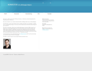 konvestor.dk screenshot