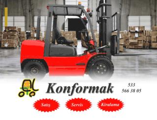 konyaforklift.com screenshot