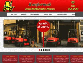 konyaforkliftkiralik.com screenshot