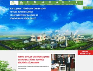 konyaseker.com.tr screenshot