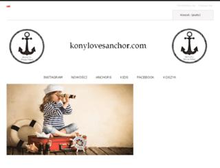 konylovesanchor.com screenshot