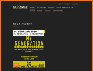 konzerte.kantine.com screenshot