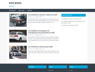 koo-bikes.co.uk screenshot