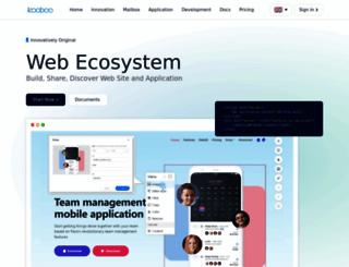 kooboo.com screenshot