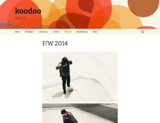 koodoobrand.wordpress.com screenshot