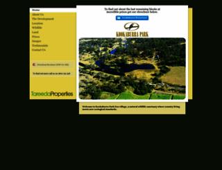 kookaburra.eco-village.com.au screenshot