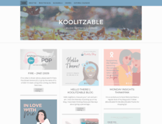 koolitzable.wordpress.com screenshot