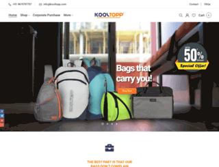 kooltopp.com screenshot
