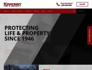 koorsen.com screenshot