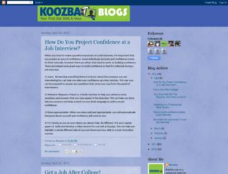 koozba.blogspot.com screenshot