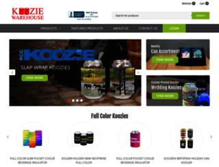 kooziewarehouse.com screenshot