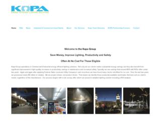 kopagroup.com screenshot