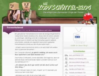 kopfschuettel.de screenshot