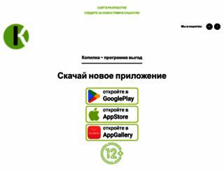 kopilkaclub.ru screenshot