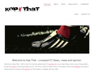 kopthat.co.uk screenshot