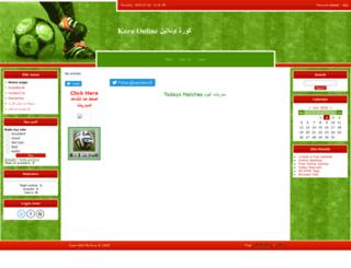 kora-online.ucoz.com screenshot