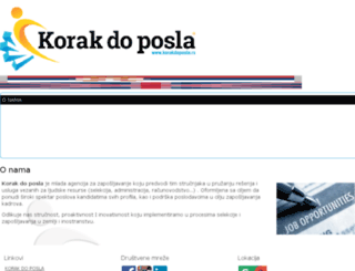 korakdoposla.rs screenshot