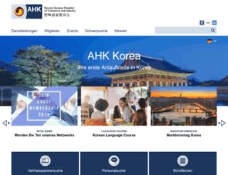 korea.ahk.de screenshot
