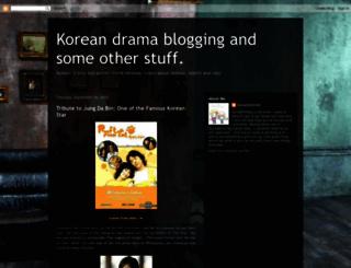 koreaandmovies.blogspot.com screenshot