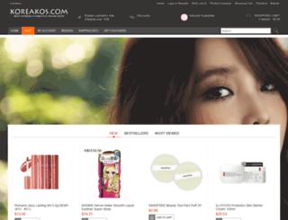 koreakos.com screenshot