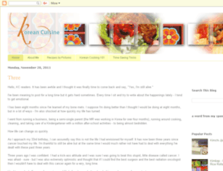 korean-cuisine.blogspot.com screenshot