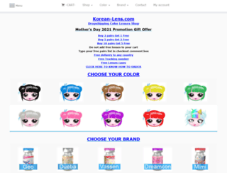 korean-lens.com screenshot