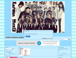 korean-muzik.forumotion.co.uk screenshot