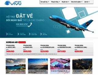 koreanairline.vn screenshot