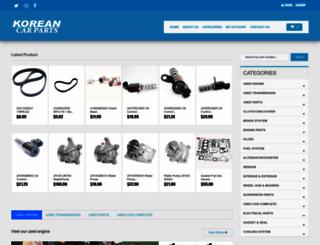koreancarpart.com screenshot