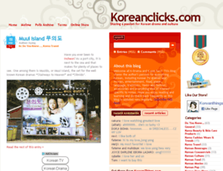 koreanclicks.com screenshot