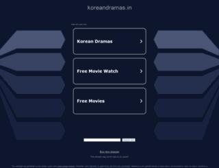 koreandramas.in screenshot