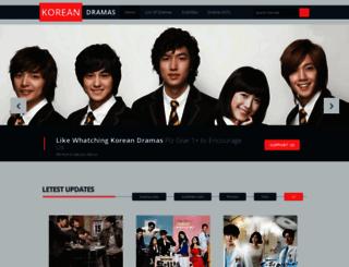 koreandramsdownload.blogspot.com.ng screenshot